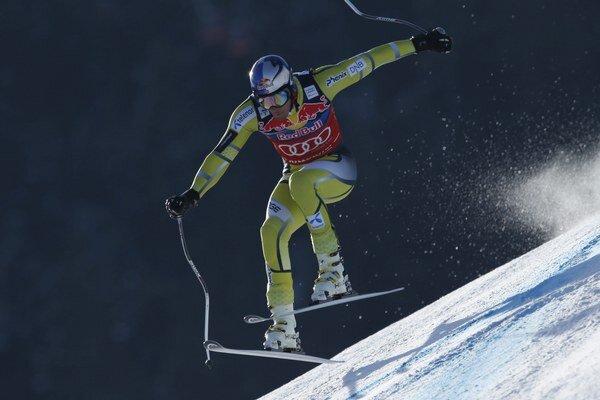 Nór Aksel Lund Svindal vyhral dva z troch meraných tréningov v Kitzbühele, v treťom bol druhý.
