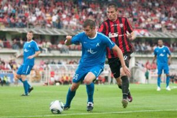 Spartakovci zatiaľ Tomáša Oravca na súpisku pre Európsku ligu nemohli dopísať.