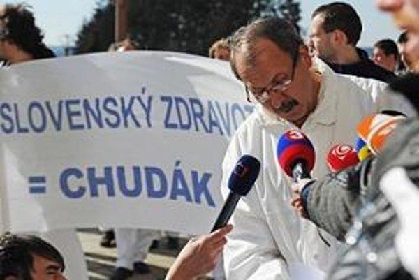 Podobný protest ako v Prešove sa v Trnave nekonal.
