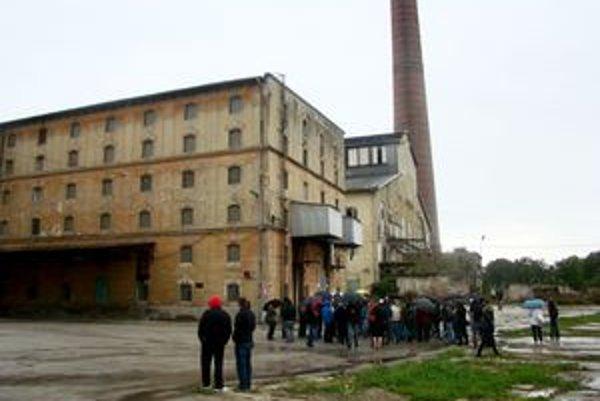 Bránu do areálu trnavského cukrovaru otvorilo mesto pri príležitosti Dňa cestovného ruchu.