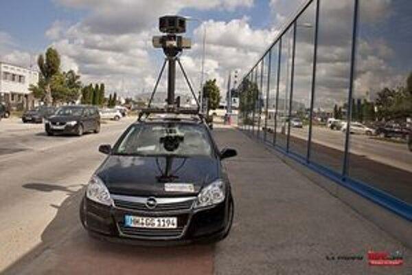 Špeciálne vybavené vozidlo sa v Trnave objavilo už minulý týždeň.