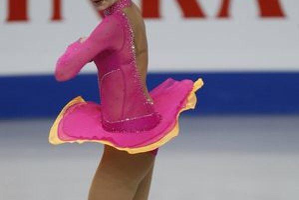 Monika Simančíková počas kvalifikácie na ME v Sheffielde.