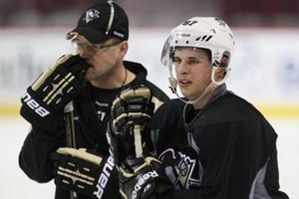 Crosby s trénerom.