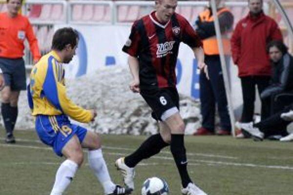 Roman Procházka zaznamenal v prvom jarnom zápase v červeno-čiernom drese svoj tretí ligový gól.
