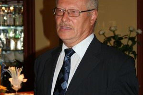 Starosta Jaslovských Bohuníc Peter Ryška.