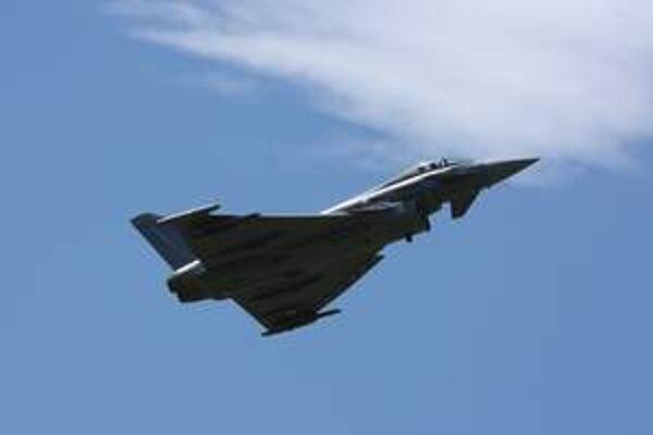Eurofighter Typhoon. Po prvý raz na pred očami slovenských divákov.