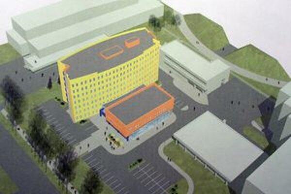 Takto mal vyzerať nový internát TU už v roku 2006.