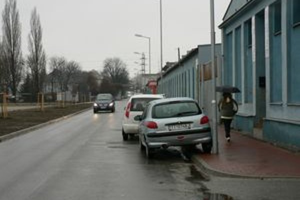 Coburgova ulica v Trnave.