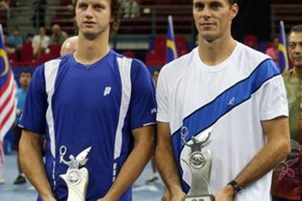 Filip Polášek (vľavo) s Františkom Čermákom.