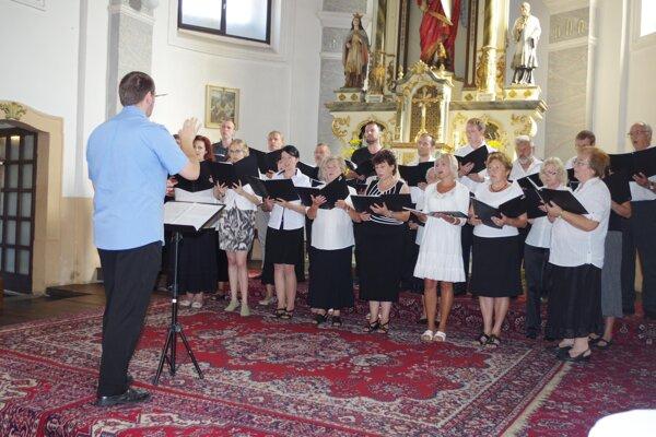 Vystupoval aj zbor z Považskej Bystrice.