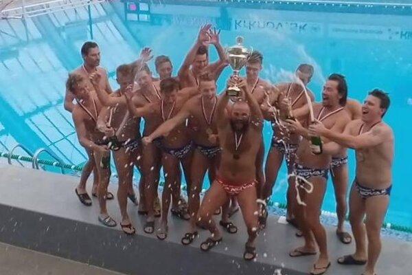 Radosť víťazov Slovenského pohára.