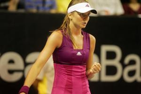Daniela Hanuchová na turnaji na Bali.