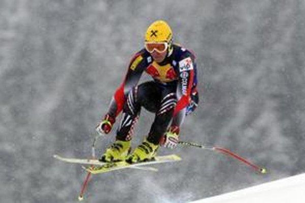 Ivica Kostelič počas super-G Kitzbüheli.
