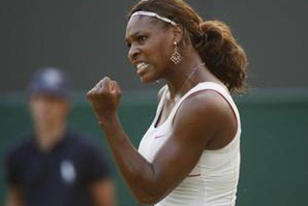 Serena Williamsová vyhrala Wimbledon už trikrát.