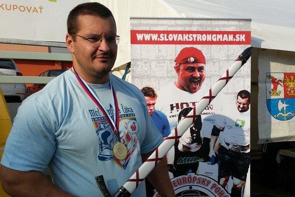 Strongman Igor Petrík vyhral Meč Matúša Čáka po prvý raz.