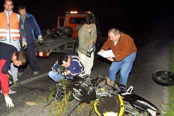 Riskovať na motorke sa nevypláca