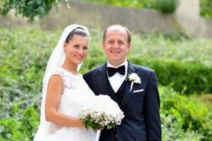 Primátor Trenčína so svojou manželkou.
