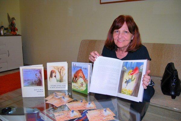 Maja Dusíková Ilustrovala vyše sedemdesiat detských kníh.