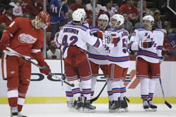 Rangers s Detroitom prehrali 5:3.