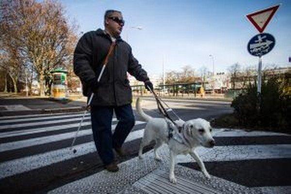 Nevidiacim komplikujú život bariéry.