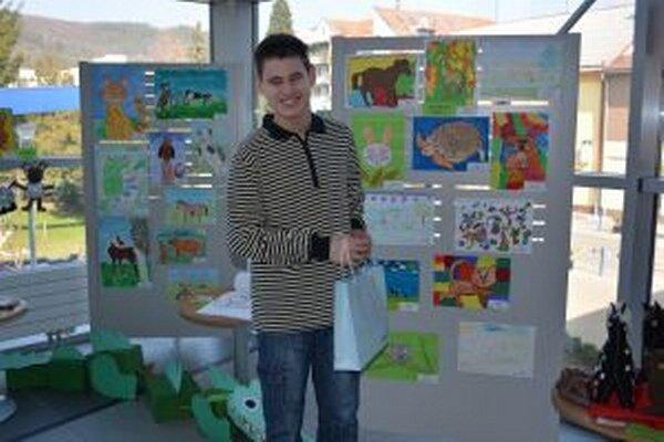 Matej Mráz získal ďalšiu výtvarnú cenu.