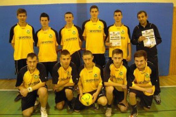 Najmladším tímom ligy bol tím Sevotech.