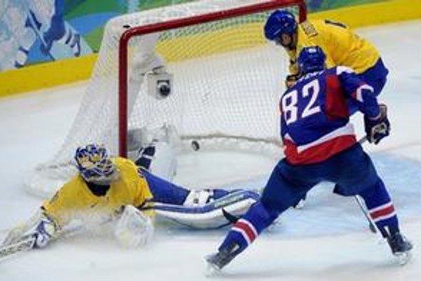 Najpamätnejšia chvíľa Tomáša Kopeckého prišla v zápase so Švédskom.