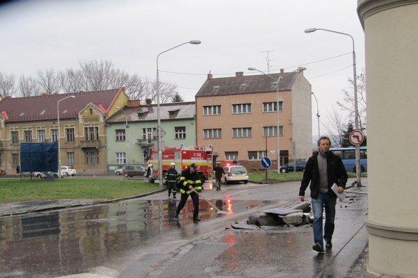 Nehoda sa stala dnes krátko po druhej hodine.