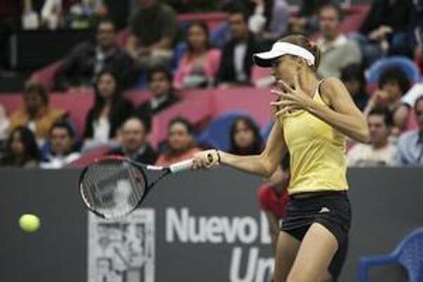 Daniela Hantuchová počas finálového zápasu.