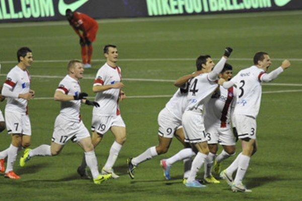 Trenčania sa z gólu radovali až päťkrát.