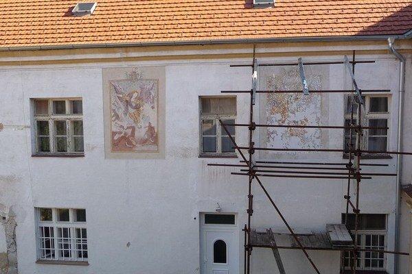 Fresku zrekonštruujú tento rok.