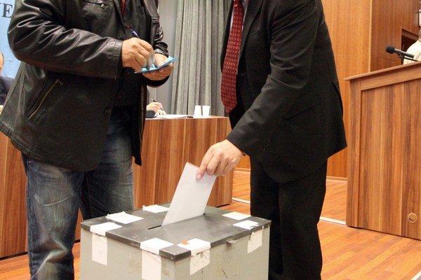Voľby potrvajú do 22. hodiny.