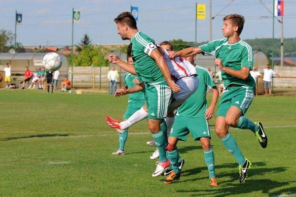 Nové Mesto (v zelenom) zvíťazilo gólom Klačmana.