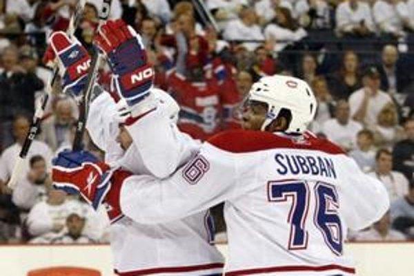 Hokejisti Montrealu Canadiens slávia ďalší prekvapujúci postup.