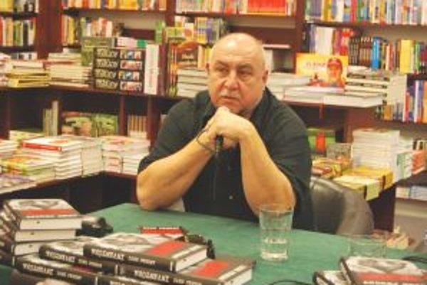 Herec predstavil svoju knihu aj v Trenčíne