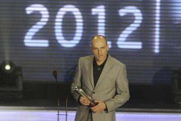 Adrián Guľa - najlepší tréner roku 2012.