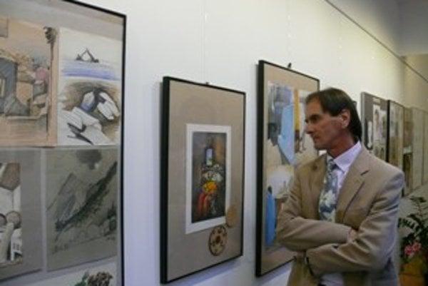 Výstava Júliusa Brunu Okno do môjho sveta potrvá do 8. decembra.