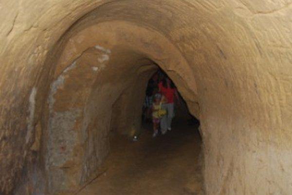 Tajomné chodby majú niekoľko stoviek rokov dlhú históriu