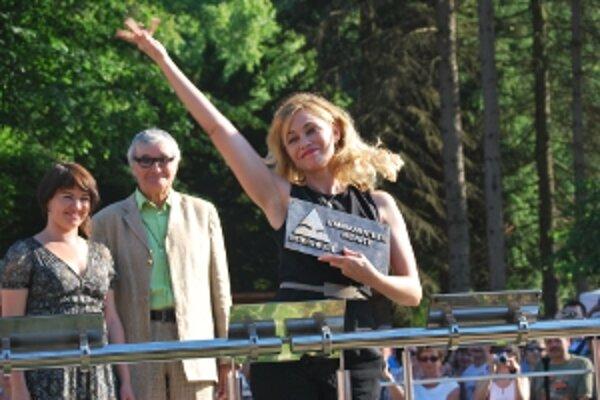 Francúzska herečka Emmanuelle Béart mala z ceny Hercova misia úprimnú radosť