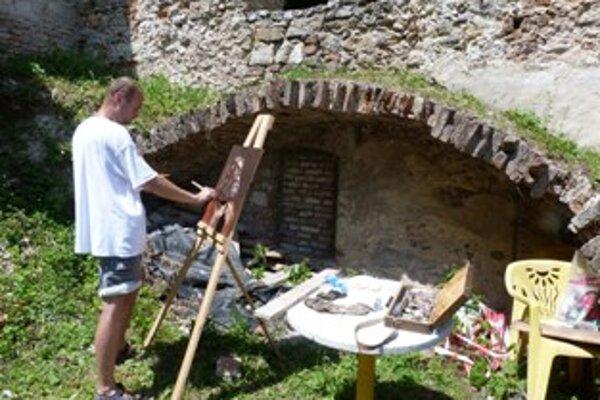Výtvarníci hľadali múzy v rôznych zákutiach kláštora