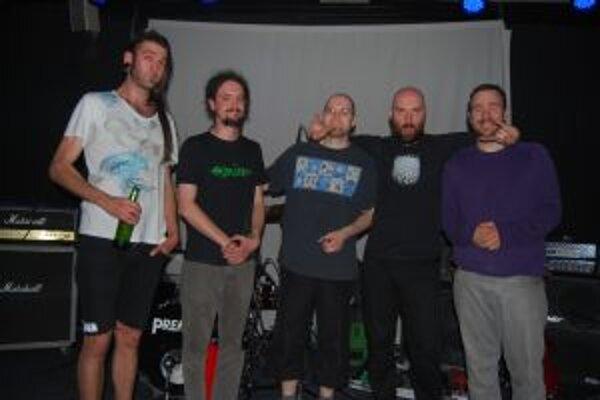 The Canyon Observer vystúpili v Trenčíne v rámci slovenského turné.