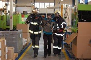 V Pobedime cvičili hasiči a záchranári.