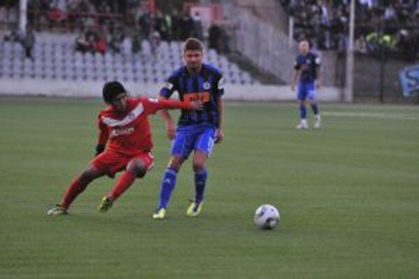 Aldo Báez predviedol proti Slovanu kvalitný výkon.