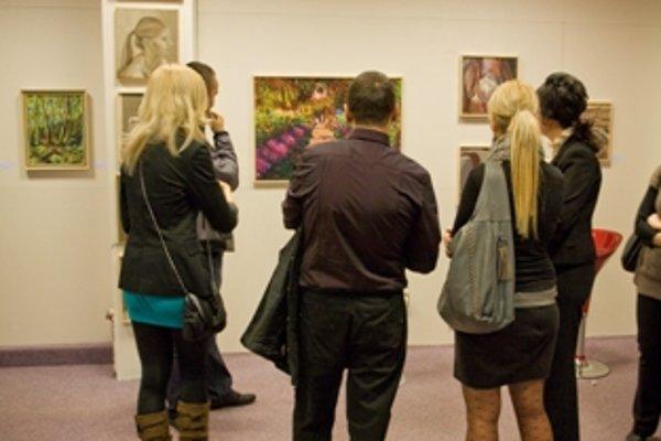 Výstava Romany Fabianovej je v Maxe do 21. marca.