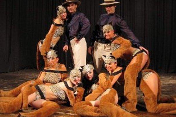 Ilustračné foto. Tanečná skupina Korzo oslavuje dvadsiate narodeniny.