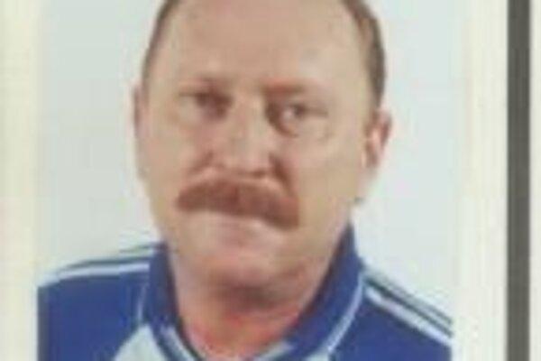 Hľadaný Vladimír Merka.