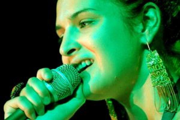 Ilustračné foto. Jana Kirschner na Pohode v roku 2005. Príde opäť a zaspieva v piatok 9. júla.