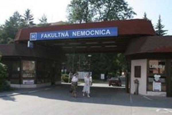Dotáciu vo výške viac ako 95-tisíc eur dostane od mesta Fakultná nemocnica v Trenčíne.