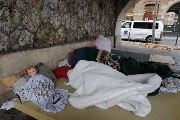 Ľudia bez domova sú celoeurópskym problémom.