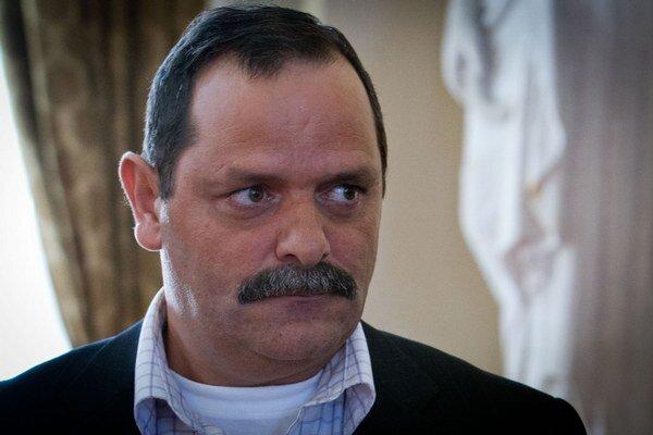 Predseda Ústrednej volebnej komisie (ÚVK) a zástupca Strany Rómskej únie na Slovensku František Tanko.